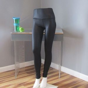 NEW Onzie High Waisted Black Diamond Yoga Pants